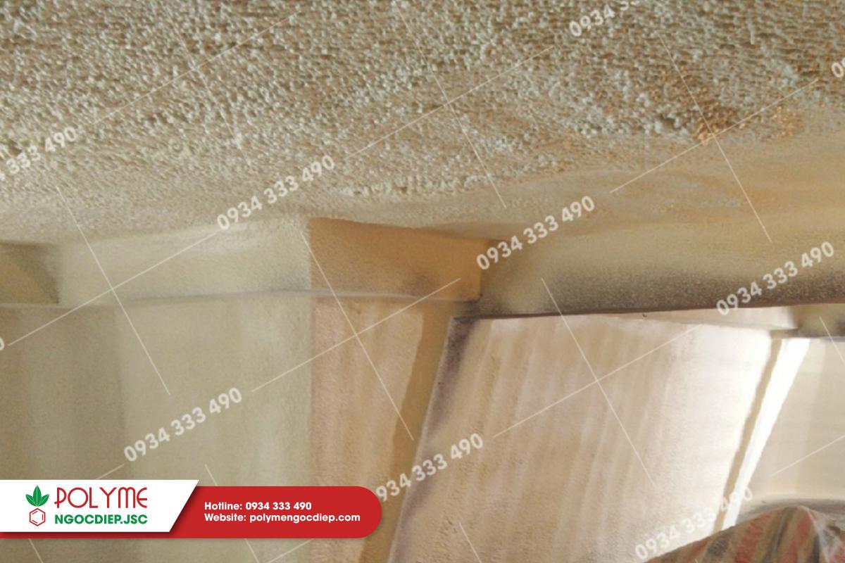 Hoàn thiện thi công chống nóng trần mái bê tông