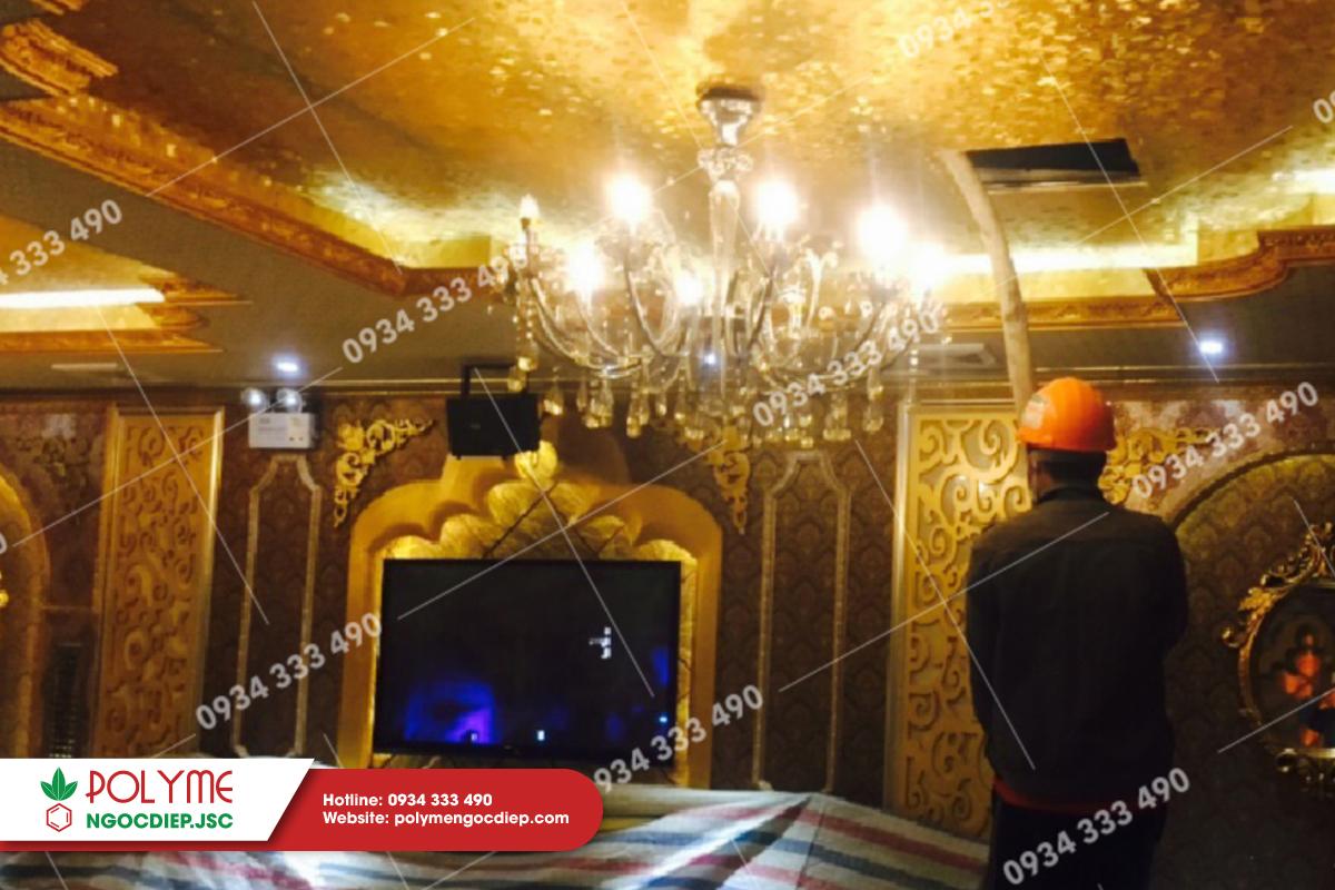 Thi công cách âm quán karaoke Kingdom
