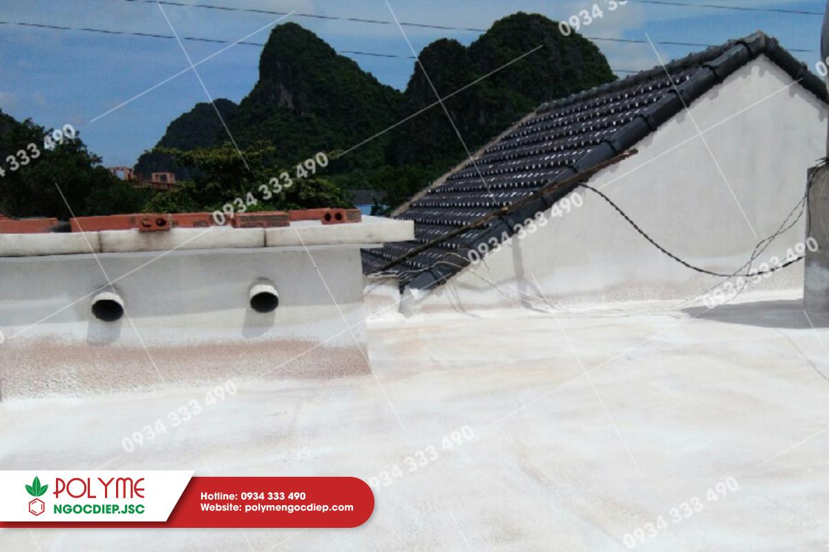 Chống nóng cho sàn mái bê tông tại Quảng Ninh