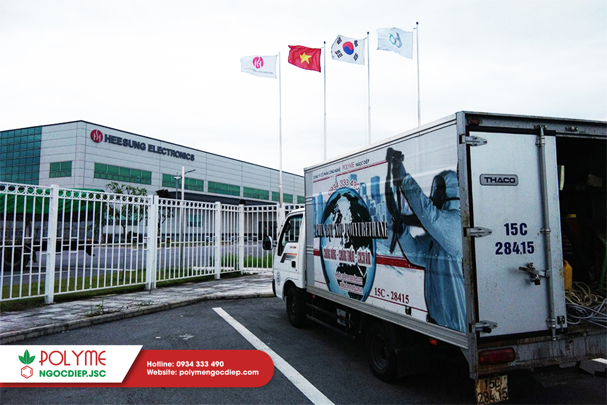 Dịch vụ thi công phun Foam PU công nghệ hiện đại của châu Âu