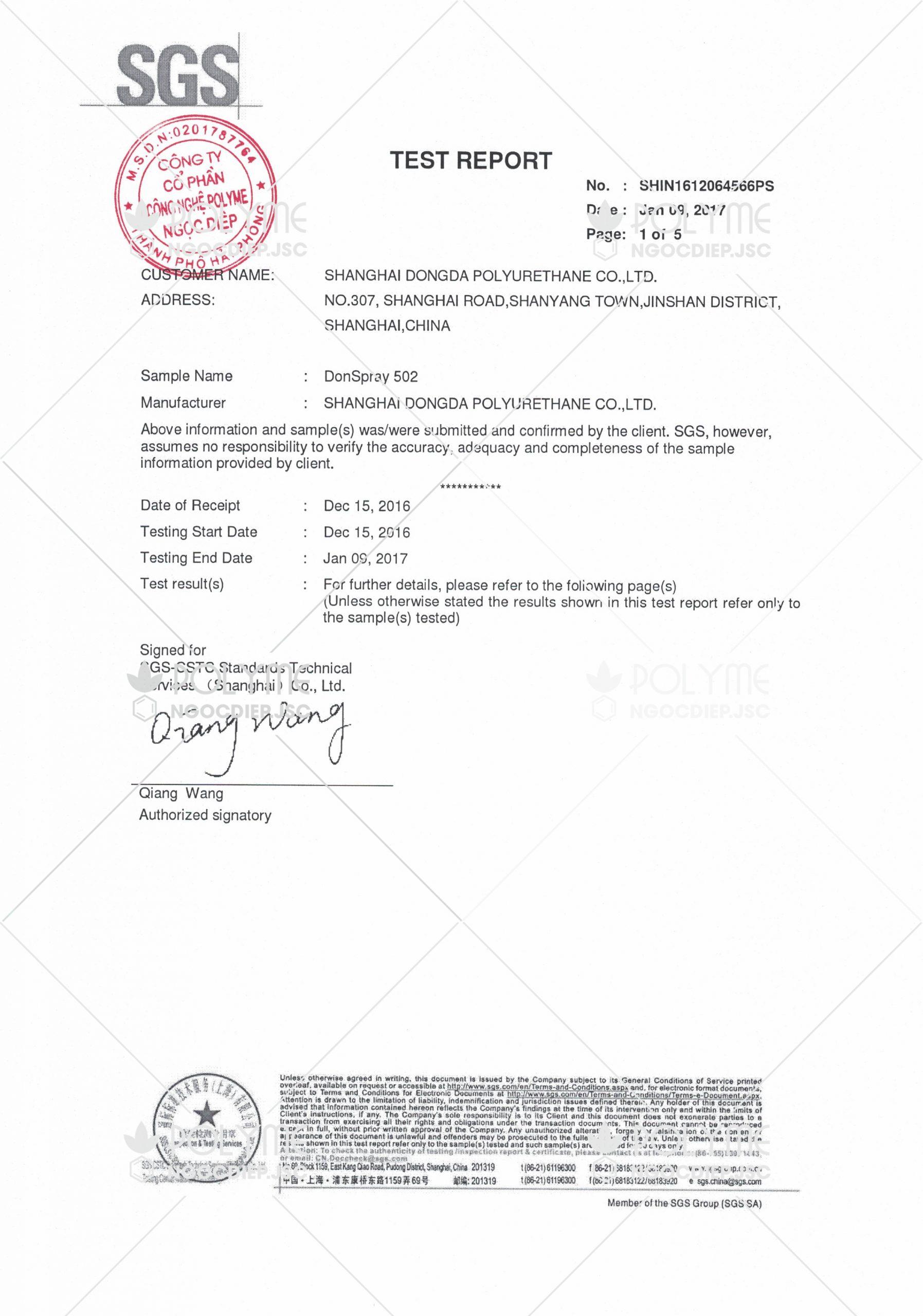 SGS-test-report