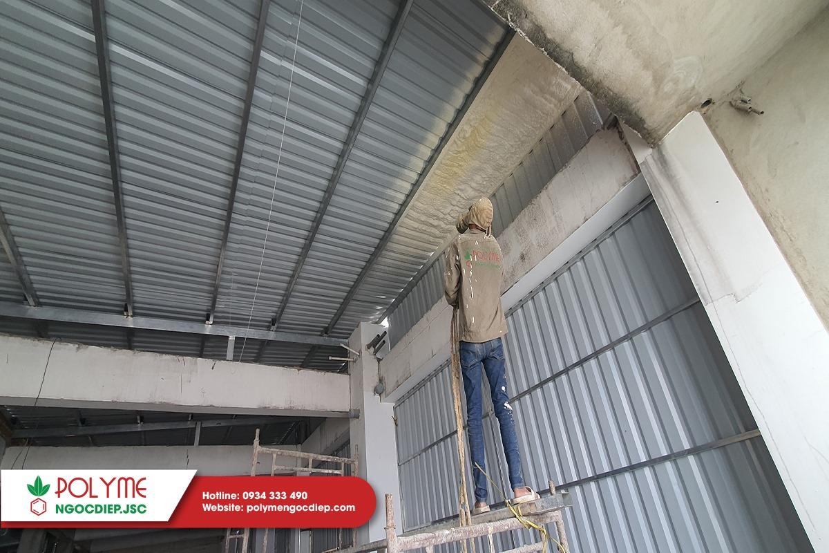 chống nóng mái tôn tại Ninh Thuận